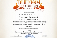 Chesnokov Rus